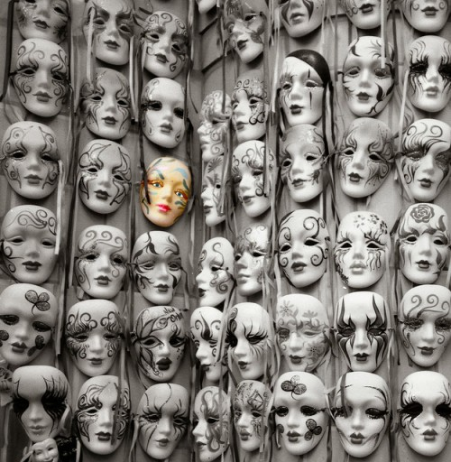 """Masks"" by Brian Snelson"