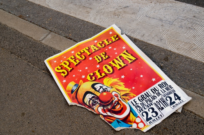"""circus poster"" by peter castleton"