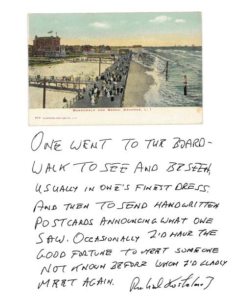 Arverne Boardwalk Beach